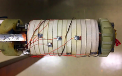 Đây là nam châm siêu dẫn mạnh nhất thế giới, có kích cỡ tương đương với cuộn giấy vệ sinh