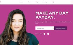 Một startup ở Thung lũng Silicon giúp người lao động nhận được tiền ứng ngay sau ngày làm việc mà không cần chờ tới kỳ lương hằng tháng