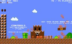 """Super Mario vừa được chế thành game """"battle royale"""": 75 người cùng chơi xem ai phá đảo đầu tiên"""