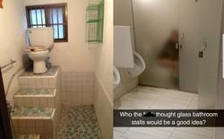 """Thiết kế siêu thảm họa của 11 WC này khiến bạn tự nhủ """"thà nhịn còn hơn"""""""