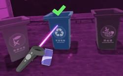 Trung Quốc dùng game VR để hướng dẫn dân phân loại rác