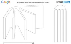 Google lộ bằng sáng chế về một thiết bị màn hình gập kỳ dị, trông như quyển sổ thứ thiệt