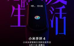 Xiaomi Mi Band 4 sẽ ra mắt vào ngày 11/6, giá chỉ từ 800 ngàn?