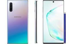 Lộ diện hình ảnh chính thức của Samsung Galaxy Note 10
