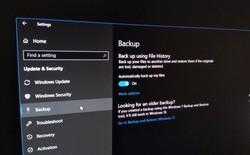 Cách kích hoạt tính năng File History trên Windows 10 May 2019
