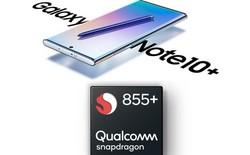 Đáng tiếc, Galaxy Note 10 sẽ không được trang bị bộ vi xử lý Snapdragon 855+ mới nhất của Qualcomm