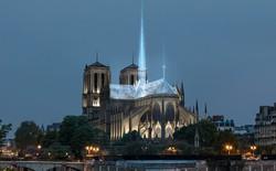 Hãng thiết kế tạo ra Apple Store đề xuất khôi phục Nhà thờ Đức bà Paris với mái và tháp chuông bằng kính