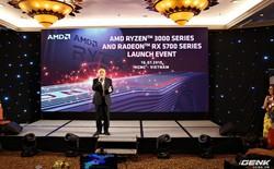 AMD ra mắt vi xử lý Ryzen thế hệ 3 và Radeon RX 5700, chọn Việt Nam là thị trường đầu tiên trong khối ASEAN để giới thiệu