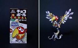 Sáng tạo của nghệ sỹ Nhật Bản: Biến vỏ hộp thành những tuyệt tác nghệ thuật, đưa kèm luôn bài học về tái chế rác thải