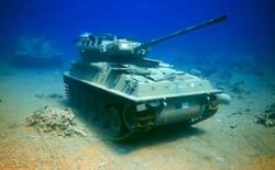 Đến thăm viện bảo tàng quân sự độc đáo nằm dưới biển có một không hai tại Jordan