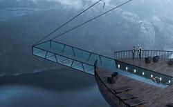 Độc đáo ý tưởng khách sạn xây dựng sát vách núi với hồ bơi vô cực kéo dài ngoài mỏm đá