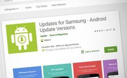 10 triệu người dùng bị lừa tải về ứng dụng giả mạo, cam kết sẽ cập nhật firmware mới nhất cho smartphone của Samsung