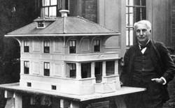 Ít ai biết Thomas Edison là người sáng chế ra quy trình xây nhà bằng bê tông đúc sẵn một lần