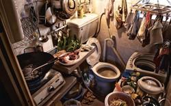 """Bộ ảnh hiếm về những căn hộ siêu nhỏ ở Hong Kong, được ví như những """"cỗ quan tài"""""""