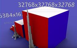 """Mời bạn xem máy tính giải khối Rubik """"siêu to khổng lồ"""": cao tương đương Burj Khalifa, gồm 6,4 tỷ ô màu, giải mất 2706 tiếng mới xong"""