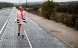 Con đường thu năng lượng Mặt trời đầu tiên trên Thế giới: không hiệu quả, nhiều đoạn vỡ vụn, hiệu suất giảm