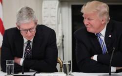 Trump khen Tim Cook là một lãnh đạo tuyệt vời vì thường xuyên gọi điện cho Tổng thống khi gặp vấn đề