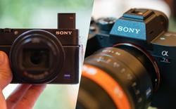 Trên tay nhanh bộ đôi máy ảnh cao cấp Sony RX100 VII và Alpha A7R IV tại Việt Nam