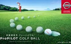 Nissan phát triển bóng golf có khả năng tự chui vào lỗ