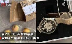 """""""Đắng lòng"""" thanh niên mua Apple Watch Series 4 trên mạng nhưng nhận về chỉ là 4 quả táo và 1 cái đồng hồ cũ"""