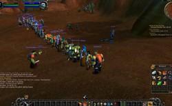 Game thủ World of WarCraft xếp hàng dài như chờ mua iPhone, kiên nhẫn đợi đến lượt được vào giết boss
