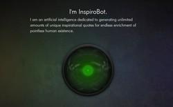 Đây là con Bot được làm ra để động viên người xem, nhưng lại 'thở' ra những câu vô cùng bi quan và gây cười