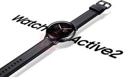 Ngắm Samsung Galaxy Watch Active 2 đẹp 'ngây người' trong những ảnh render mới rò rỉ