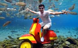 """Dân du lịch Indonesia đổ xô đến """"sống ảo"""" dưới nước tại ngôi làng có một không hai này"""
