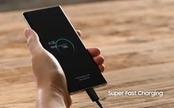 Sự thật bạn cần phải biết về công nghệ sạc siêu nhanh mà Samsung trang bị cho Galaxy Note 10+