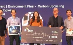 Startup biến khí CO2 thành vật liệu xây dựng, giảm thiểu khí thải tương đương loại 28 triệu ô tô ra khỏi giao thông giành giải nhất của ƠI Award