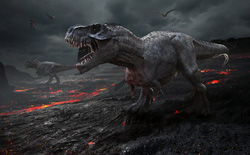 Lý do loài khủng long bị xóa sổ là vì tiểu hành tinh có sức công phá ngang 10 tỷ quả bom nguyên tử?