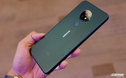 Cận cảnh Nokia 7.2 vừa ra mắt: Cụm camera trước & sau được Zeiss phát triển, mặt lưng màu xanh giống iPhone mới, giá gần 6,2 triệu đồng
