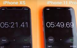 iPhone 11 Pro bị chính iPhone Xs đánh bại trong thử nghiệm tốc độ thực tế