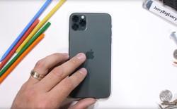 Thử nghiệm độ bền iPhone 11 Pro: Mặt lưng kính chống xước ở đẳng cấp hoàn toàn mới