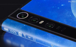 Xiaomi Mi Mix Alpha rất giống bằng sáng chế điện thoại màn hình bao quanh của Apple trước đây