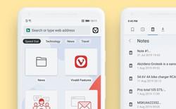 Trình duyệt web Vivaldi chính thức xuất hiện trên di động