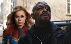 """""""Nick Fury"""" vạ miệng hé lộ năng lực du hành thời gian của Captain Marvel"""