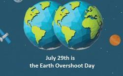 Earth Overshoot Day - thời điểm nhân loại lạm dụng tài nguyên vượt ngưỡng phục hồi của Trái đất lại đến, và nó là sớm nhất lịch sử