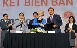"""Amazon bắt tay """"bầu"""" Hiển thành lập chuỗi trung tâm hỗ trợ doanh nghiệp Việt xuất khẩu ra thế giới, có thể sẽ xây dựng cả chuyên trang Amazon Việt Nam"""