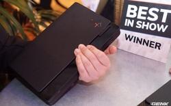 [CES 2020] Cận cảnh tablet màn hình gập Lenovo X1 Fold: Thiết kế đa dụng cho cảm ứng lẫn bàn phím vật lý, gập lại như cuốn sổ tay rất đẹp
