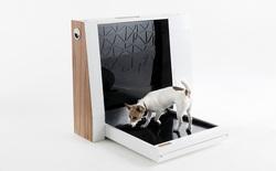 """Đây là máy vệ sinh thông minh dành cho chó với khả năng tự động dọn dẹp chất thải của các """"boss"""", giá hơn 16 triệu đồng"""