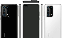 """Huawei P40 Pro lộ ảnh render với cụm 5 camera """"siêu to khổng lồ"""""""