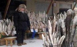 Thành phố lạnh lẽo nhất thế giới: âm 64 độ, ngoài chợ chỉ bán 1 loại thực phẩm duy nhất