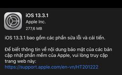 Apple tung ra iOS 13.3.1, sau đây là những thay đổi