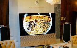 """Cận cảnh """"siêu TV"""" BeoVision Harmony giá gần 600 triệu: Dàn loa B&O 7.1 gấp cánh bướm, tấm nền OLED 4K từ LG, riêng cái remote đã hơn 8 triệu"""
