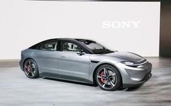 [CES 2020] Sony bất ngờ công bố xe điện Vision-S