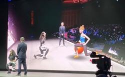 """[CES 2020]: Samsung trình diễn ý tưởng tập thể dục theo kiểu """"nhập vai"""" trong môi trường thực tế ảo tăng cường"""