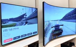 [CES 2020] LG trình diễn TV biến hình, chuyển từ thẳng thành cong trong một nút bấm