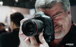 """[CES 2020] Cận cảnh bộ đôi """"quái vật"""" Canon EOS 1DX Mark III và EOS Ra"""