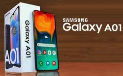 Hướng đến người lần đầu dùng smartphone, Samsung giới thiệu Galaxy A01